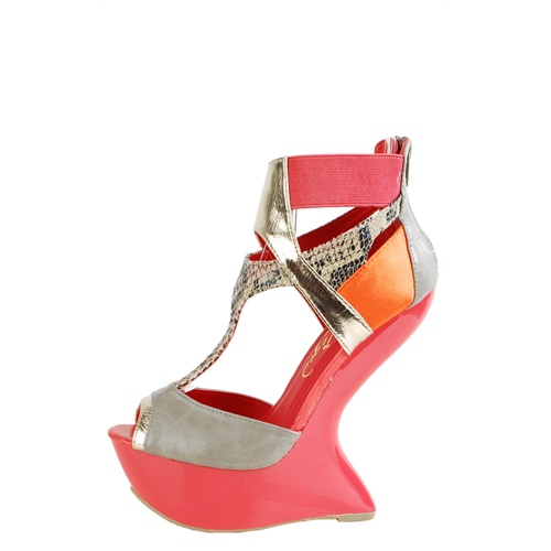 CORAL HEEL LESS - SPECIAL ORDER-