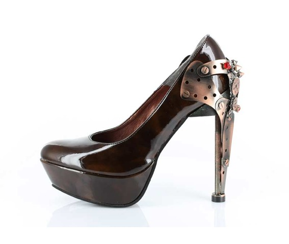 HAUTE COUTURE HEELS - 619 - BROWN-EIFEL