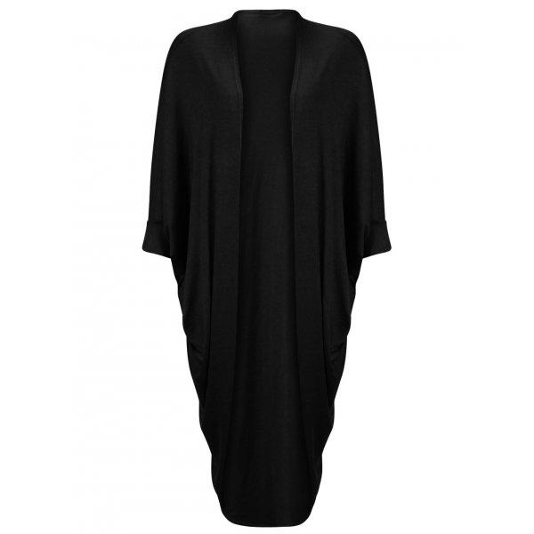 KENDRA CARDIGAN - BLACK (PRE-ORDER)-