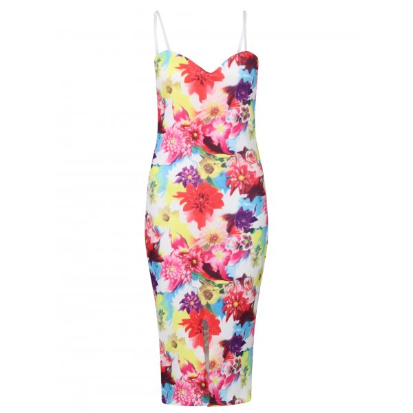 MELISSA TROPICAL DRESS-