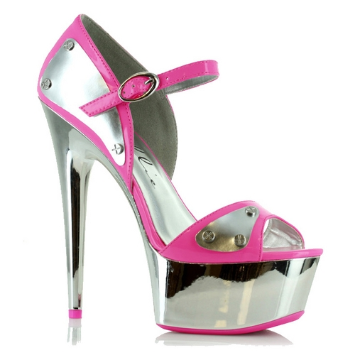 MILEY PLATFORM PUMPS - NEON PINK-609-GERMINI