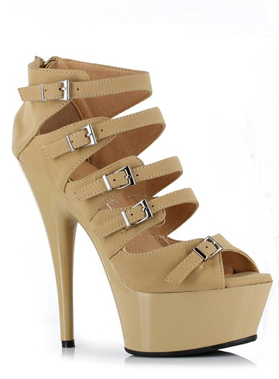 LABELLE PUMPS - NUDE-