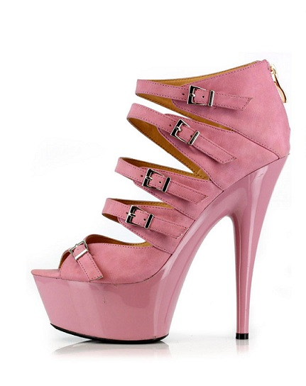 LABELLE PUMPS - PINK-