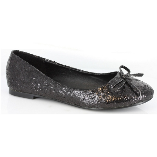 PRINCESS FLATS - BLACK-016-MILA-G