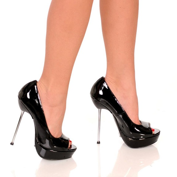 ROXIE PUMPS - BLACK-