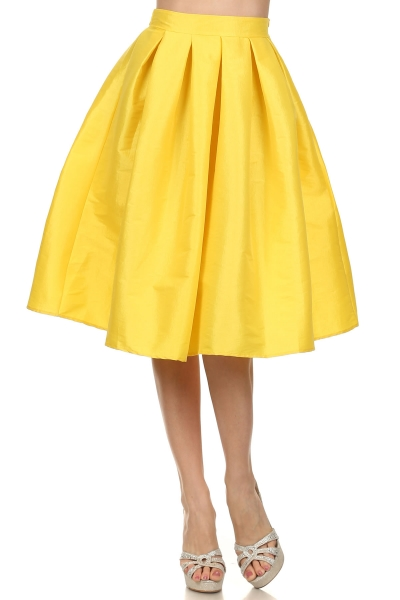 SHAVON SKIRT - YELLOW-