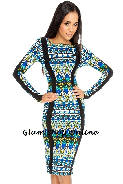 SOUTH BEACH KNEE LENGTH DRESS-