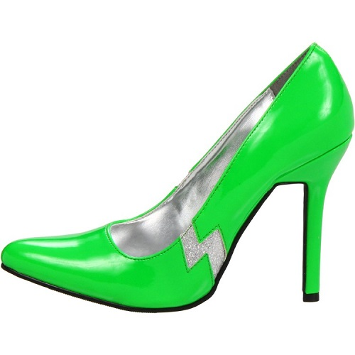 THUNDER PUMPS - LIME GREEN-
