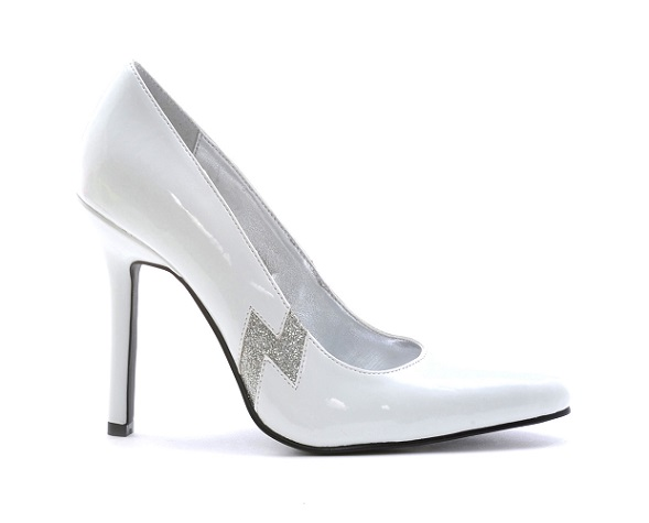 THUNDER PUMPS - WHITE-