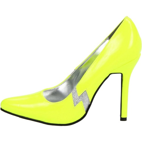 THUNDER PUMPS - YELLOW-420-JEM
